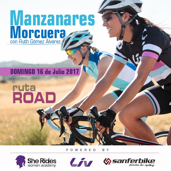 Ruta Road para chicas Club She Rides Manzanares Domingo 16 de Julio