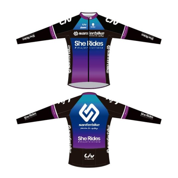 Chaqueta ciclista exclusiva del Club She Rides